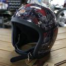 ZON x TT&CO. コラボ 限定生産 500-TX クリアシェル ヘルメット あご紐ブラックレザー