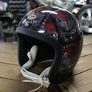 ZON x TT&CO. コラボ 限定生産 500-TX クリアシェル ヘルメット あご紐アイボリーレザー