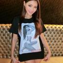 BIKINI NIGHT WINTER2019 MikaT Tシャツ
