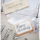 カリグラフィーメッセージタグ「Happy Birthday」2段10枚入り 税・送料込み