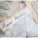 カリグラフィーメッセージタグ「Happy Wedding」1段10枚入り 税・送料込み