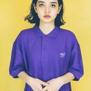 dabbot silhouette polo- shirt (purple)