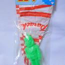 パチ怪獣玩具 パラシュート ポリ人形 宇宙猿人○リ