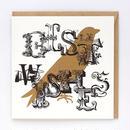 ギフトカード_BEST WISHES BIRD