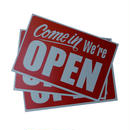 OPEN / CLOSED / NO SMOKING WALL SIGN