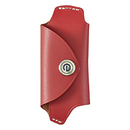 DAMD Leather Key Case for MAZDA -red-