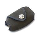 DAMD Premium Suede Key Case for SUBARU -Ultra Suede × Blue Stitch-