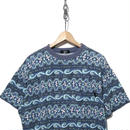 80's OLD STUSSY 総柄 ポケット Tシャツ USA製