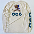 "新品 国内未入荷 NIKE ACG Long sleeve T-shirts ""HIKE NIKE"" NATURAL"