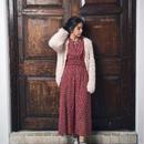 <ADIRA>feather knit cardigan AR183KT06