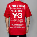 Y-3 / Limited edition for PARIS store UNIFORM T-shirt