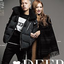 fuzzy別注 DEEP Boa Riders Down Likeジャケット BLACK