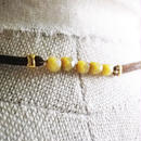 STRINGS CHOKER <Tiger's Eye>