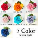 """Design Flower """"SEVEN LUCK"""" カラフルなバラの小さな贈り物【お祝い】【誕生日】【プリザーブドフラワー】【プチギフト】【母の日】"""