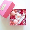 "LUXURY BOX  ""Bisou""(PINK)サプライズフラワーボックス"