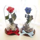 "Design flower ""beauty and the beast"" 【2color】♡美女と野獣♡バラを閉じ込めたガラスドーム"
