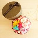 "LUXURY BOX ""flower princess box"" レインボーガーベラのサプライズボックス"