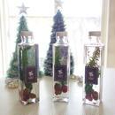 "Herbarium ""préparation d'hiver"" クリスマスが待ち遠しいウィンターハーバリウム"