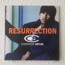 "(7"") COMMON SENSE / RESURRECTION       <hiphop>"