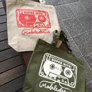 (BAG) mobiledisco キャンバストートbag  LARGE