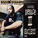 "(12""/ used) MC Eiht ‎/ Streiht Up Menace   <HIPHOP / RAP>"