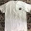 (T-shirts) mobbile deepsco  Tee  白 S/M/L/XL