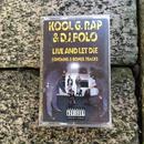 (TAPE) Kool G Rap & D.J. Polo /  Live And Let Die   <HIPHOP / RAP>