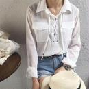 ワイドスプレットカラースタイルシャツ