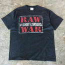 90's WWF RAW IS WAR S/S T-shirts WWE プロレス
