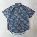 90's Quick Silver 総柄 S/S Shirts クイックシルバー