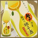 【限定生産】世界一統 和歌のめぐみ 龍神の生しぼり柚子酒28BY:1800ml