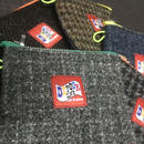 TISSUE POUCH  HARRIS TWEED