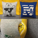 YES/NO Cushion in HAPPY POCKET by AYAN