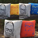 YES/NO Cushion in HAPPY POCKET by CHIBEE