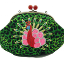 Peacock METAL (GR)|Make-up pouch [DW2-3004]