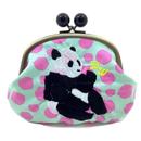 POWERFUL PANDA (IKURA)|coin purse [DW2-4004]