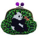 POWERFUL PANDA (GR)|coin purse [DW2-4003]