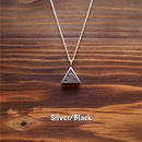WAVE △ Pendant necklace  [Silver 925]