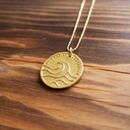 Nature COiN pendant Top [K18 Yellow Gold]
