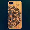 "Bamboo iPhone case C ""Big Mandala"" ( SE / 7 / 8 / X )"