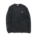 HT-W171001 / ROUND LOGO L/S TEE - BLACK