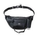HHT-G187002 / WATERPROOF SHOULDER BAG - BLACK