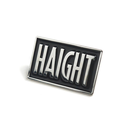 HT-G177006 / BOX LOGO PIN BADGE - BLACK