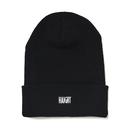 HT-W186003 /  BOX LOGO KNIT CAP - BLACK