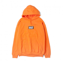 HT-W183001 / BOX LOGO WARM HOODIE - ORANGE