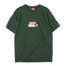 HT-W188002 / HAIGHT×CLEOFUS TEE - D.GREEN