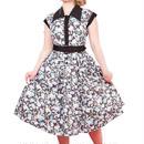 レトロワンピース レディース ノースリーブ コットン クラシカル 50年代風 Miss Candyfloss ミスキャンディフロス Dorit Lous
