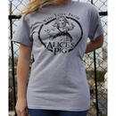 Tシャツ ロゴt レディース 半袖 グレー Alice's Pig アリスズピッグ BOYFRIEND TEE IN GREY