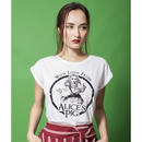 Tシャツ ロゴt レディース 半袖 ホワイト 白 Alice's Pig アリスズピッグ