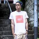 カラーパレット・ロゴTシャツ【d. 帰り道オレンジ】